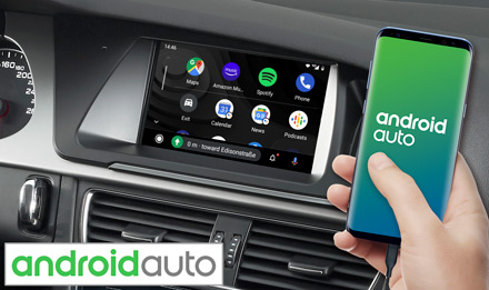 Audi A5 - Works with Android Auto - X703D-A5