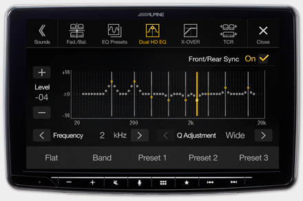 iLX-F903FTR - High-end Sound Tuning Options