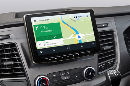 iLX-F903FTR - Online Navigation with Android Auto