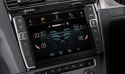 Golf 7 - Air Condition Display - i902D-G7R