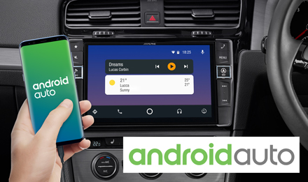 Golf 7 - Works with Android Auto - i902D-G7R