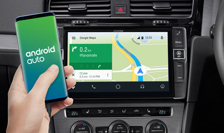 Online Navigation with Android Auto - i902D-G7R