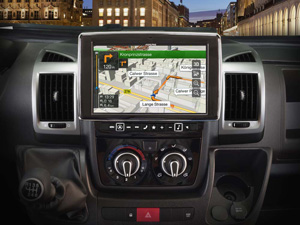Alpine Style | Navigation System for Fiat Ducato 3, Citroën Jumper 2 and Peugeot Boxer 2